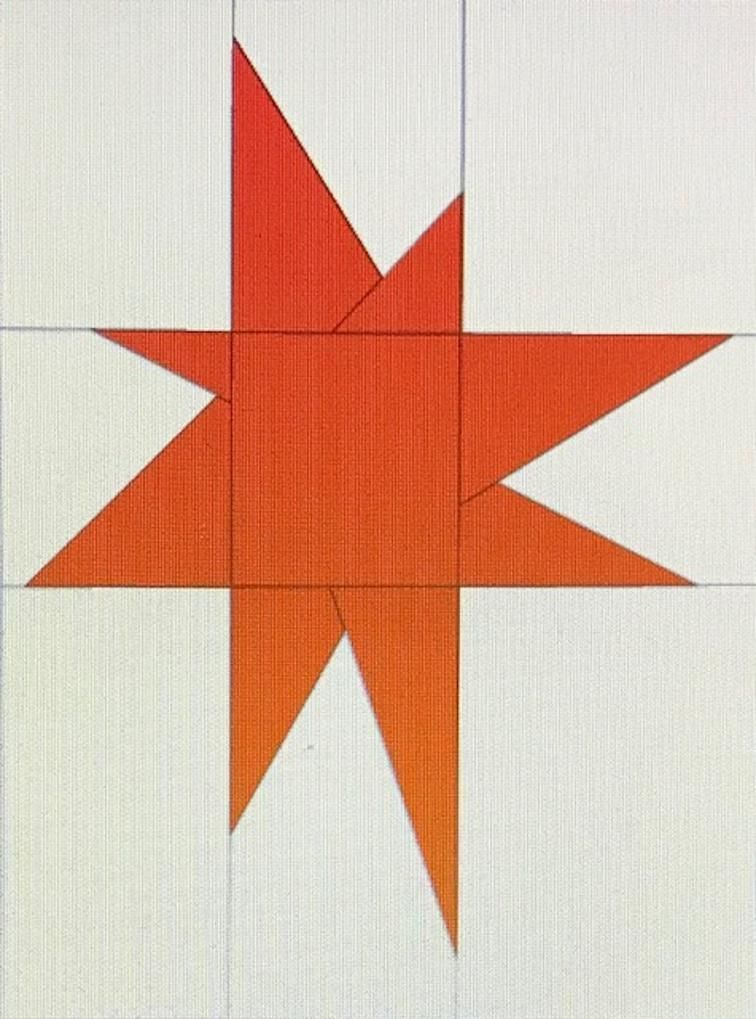 Free Quilt Pattern 9x12 Wonky Star I Sew Free Quilt Patterns Star Quilt Patterns Quilt Patterns Free