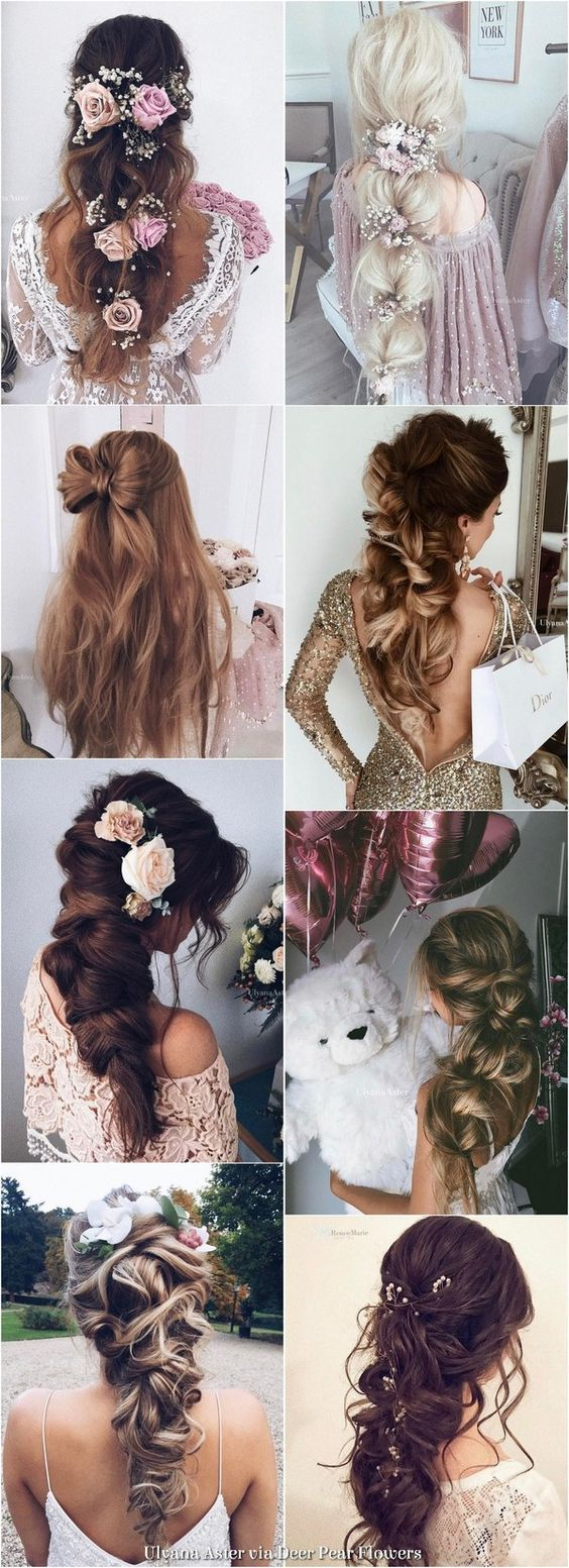 wedding hairstyles for long hair from tonyastylist long wedding