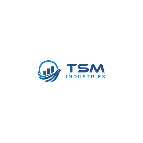 Tsm Or You Can Have Tsm Industries Logo For Consulting Company Tsm Industries Is An Investment Company Industry Logo Company Logo Design Logo Design Contest