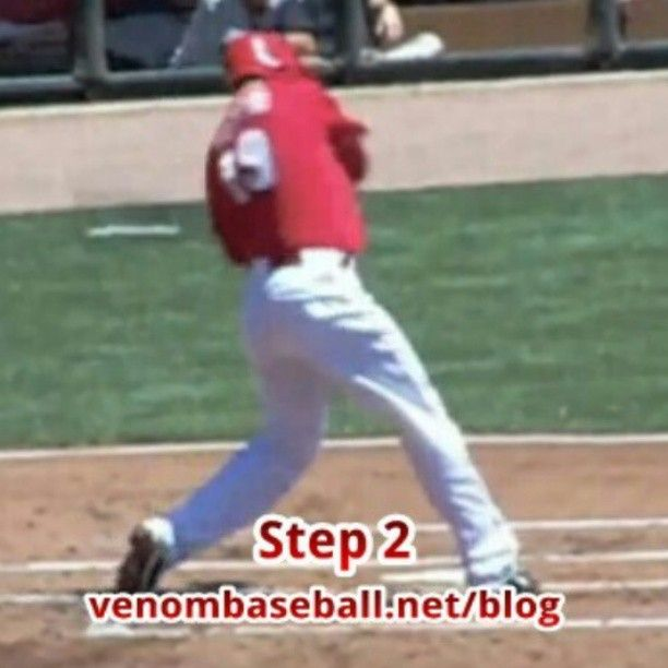 Joey Votto-Rotational Hitting Mechanics Joey Votto shows the importance of rotating the lower half of his body before his hands come through the zone. This tip is continued at www.venombaseball.net/blog
