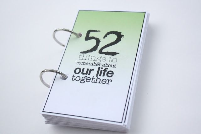 Discover what your spouse remembers about your lives together so far.