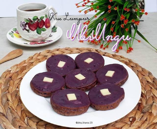 Kue Lumpur Ubi Ungu By Dina Khansa Resep Aneka Kue Enak In 2020 Food Desserts Cookies