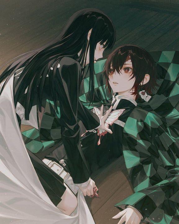 Kimetsu No Yaiba {Fashion/Genderbends/Petbends/Ships/AU} - Kanao X Tanjirou {1}