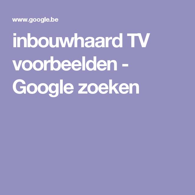 inbouwhaard TV voorbeelden - Google zoeken