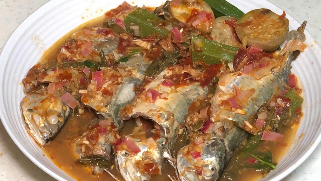 Asam pedas ikan spicy tamarind fish youtube ikan