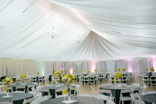 Lds Cultural Hall Reception Loved The Draping That Vigen S Party Rentals Did Indoor Wedding Wedding Tent Tent Reviews