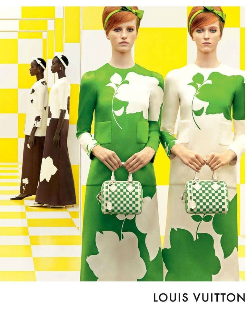 cca24c57 Louis Vuitton Womenswear Spring/Summer 2013 Print Ad Campaign ...