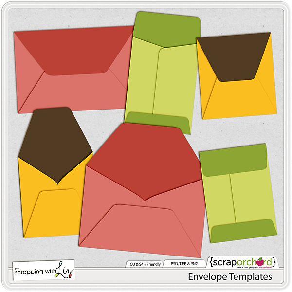 Envelope Templates  SheS Crafty    Envelopes