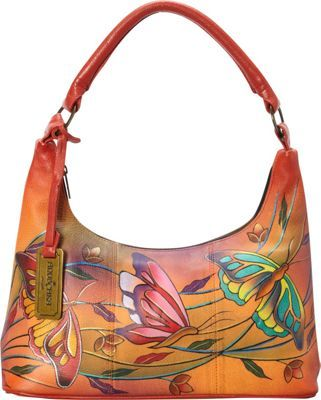 adbab3347e Anuschka Contemporary Hobo Angel Wings Tangerine - via eBags.com ...