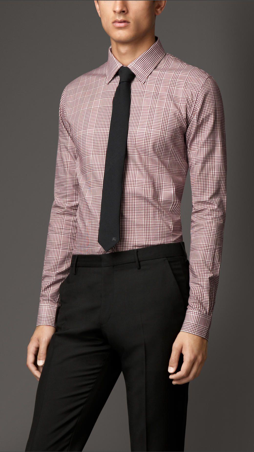 22af8c335ec8 Chemises habillées pour homme   Burberry   Mariage   Shirts, Mens ...
