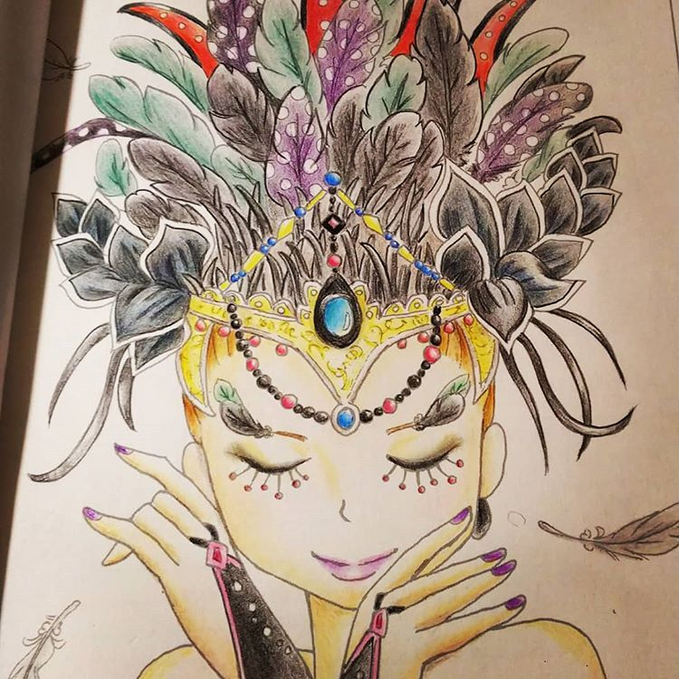 Instagram의 Mayumi Nurie님 今日の塗り絵 ぬりえ好き 塗り絵好き 塗り絵セレクション ぬりえ 塗り絵 おとなのぬりえ 大人の塗り絵 子供より夢中 無心 没頭 没頭できる時間 ハマっちゃった 色鉛筆 主婦の趣味 ガールズ Zelda Characters Art Character
