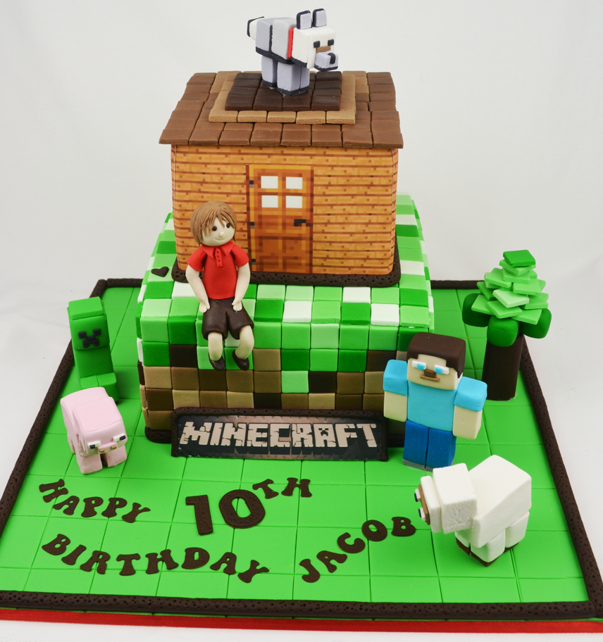 MINECRAFT CAKES Birthday cakes, Cake minecraft and ...