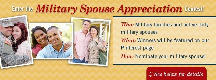 Does your military spouse take care of the family, run the