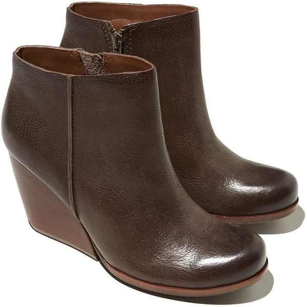 Women's Kork-Ease Natalya Ankle Boots ($180) ❤ liked on Polyvore featuring shoes, boots, ankle booties, kork ease boots, side zipper boots, side zip ankle boots, chunky ankle boots and chunky booties