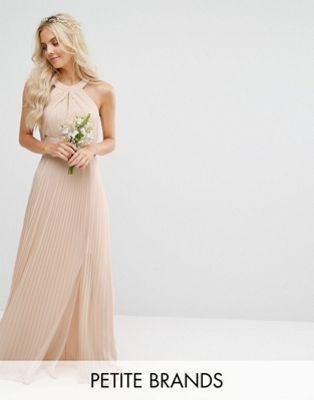TFNC Petite – Wedding – Plissiertes Maxikleid | Wedding RuJJ ...