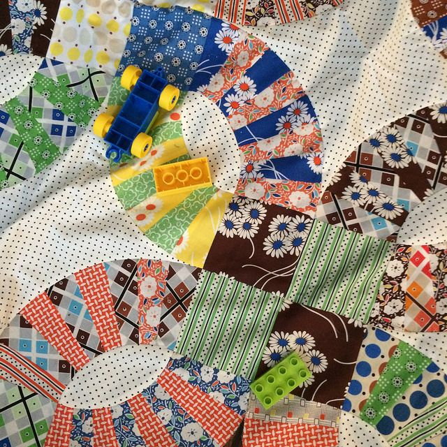 Pickle Dish Quilt Top {A Finish Quilts, Modern quilt