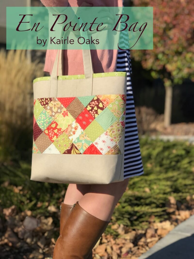 Friday Spotlight: Make the Pretty En Pointe Bag from Moda Fabrics! — SewCanShe | Free Sewing Patterns and Tutorials