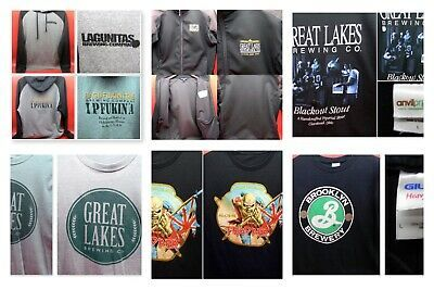 Beer Clothing Lot: Great Lakes(x3). Lagunitas. Brooklyn. Robinson's The Trooper. #fashion #clothing #shoes #accessories #men #mensclothing (ebay link)