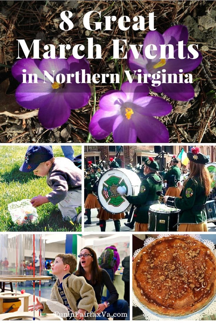 Women S History Month Events Restaurant Deals Pi Day Fun And Many Opportunities To Enjoy Beautiful Northern Virginia As Spring