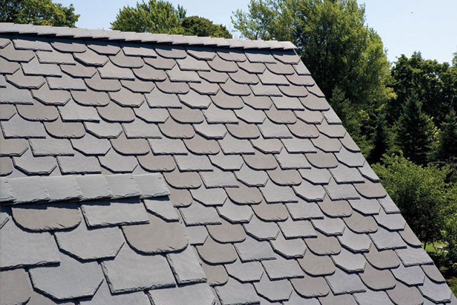 Ecostar Majestic Slate Tiles Eco Friendly Durable Recycled Rubber Roofing Tiles Green Building Supply Roofing Options Roofing Green Building