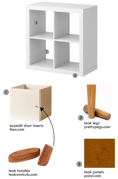 Plans For Mid Century Ikea Expedit Hack Artcream Ikea Expedit Ikea Expedit Hack Ikea