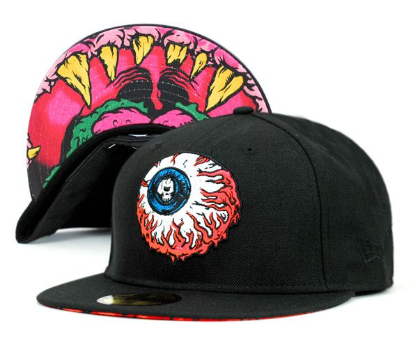 01ad4de7388 NEWERA×MISHKA LAMOUR KEEP WATCH BLACK   NEW ERA CAP