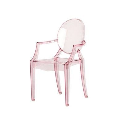 blush pink ghost chair in a kids size. would be amazing in a's