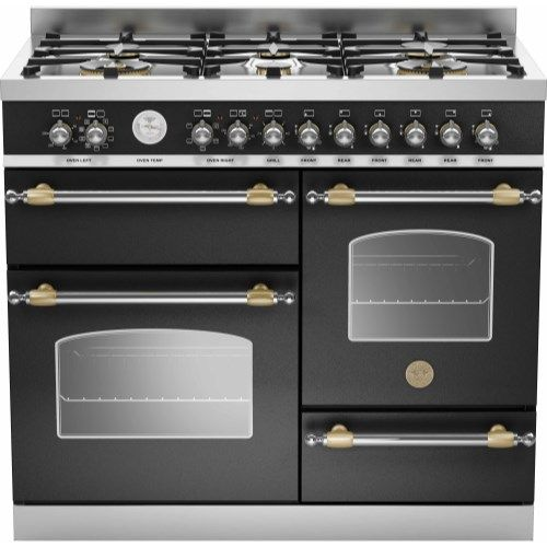 Bertazzoni Appliances Range Cooker/Dual Fuel HER100-6-MFE-T-NET ...