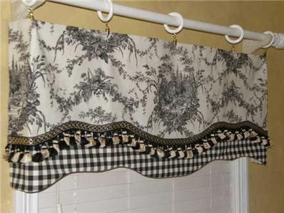 Rooster Valance Details About French Country Valance