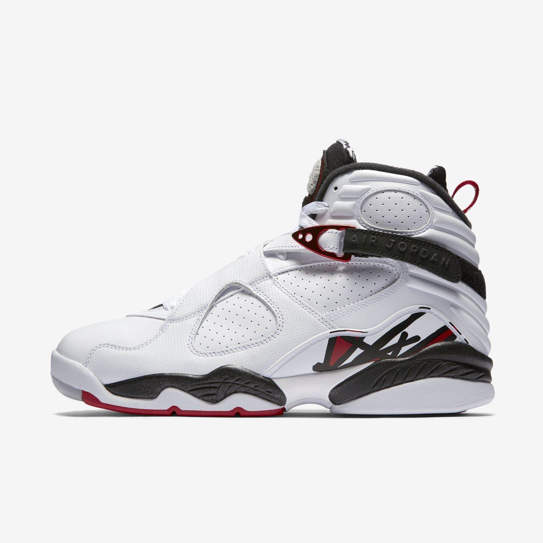 info for 69436 f42d0 Nike Air Jordan 8 Retro  305381-104  Basketball Alternate White Red-Black- Grey