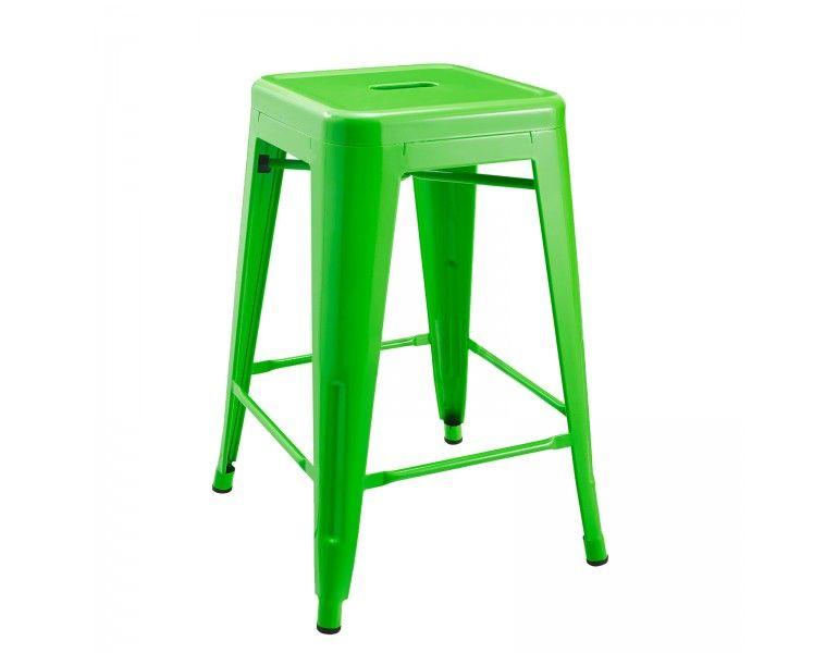 xavier pauchard tolix bar stool barhocker chair replica nachbau green gr n gruen metal steel. Black Bedroom Furniture Sets. Home Design Ideas