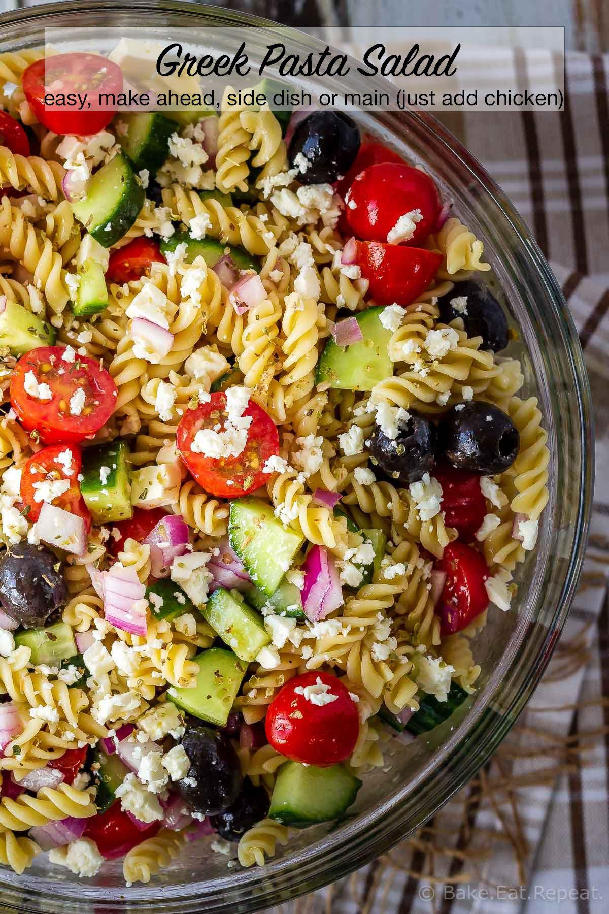 Greek Pasta Salad images