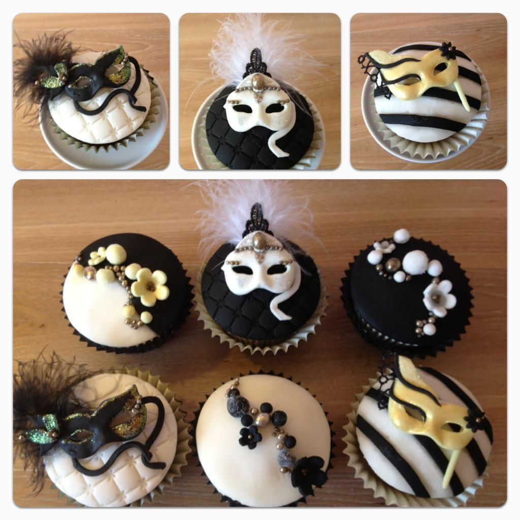 Masquerade Decorations You Make Yourself - Posh and swanky cupcake classes hen parties yorkshire masquerade masks cupcakes