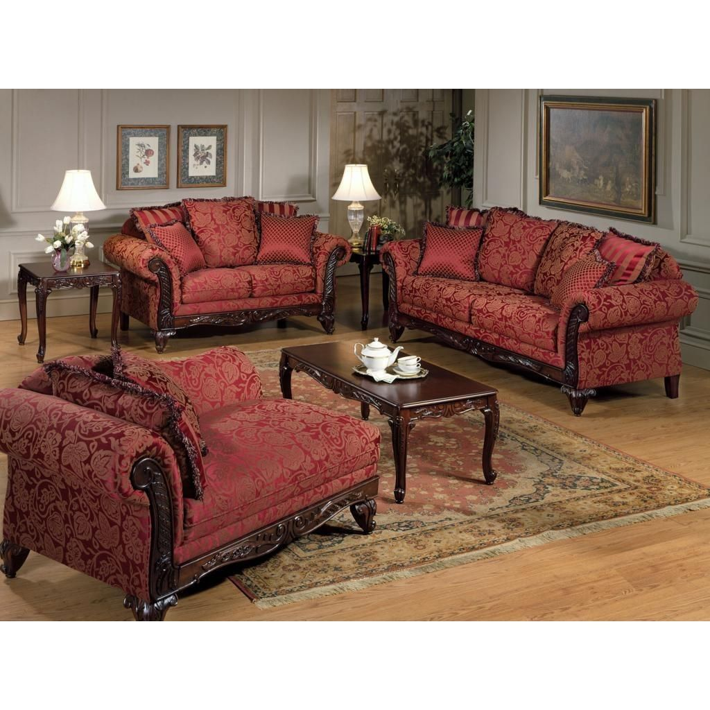 Exceptional Serta Upholstery Momentum Magenta Sofa W/ Loveseat Set
