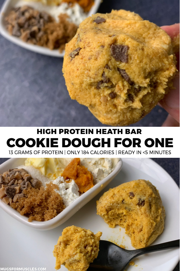 One Chocolate Chip Cookie Dough Protein Bar