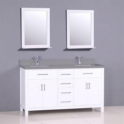 Golden Elite Bathroom Vanity CT60 Capetown 61-in Bathroom vanities