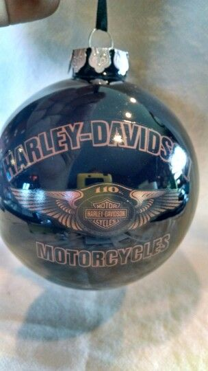 H-D ornament. Find this Pin and more on Harley Davidson Christmas ... - H-D Ornament Harley Davidson Christmas Ornaments Ornaments