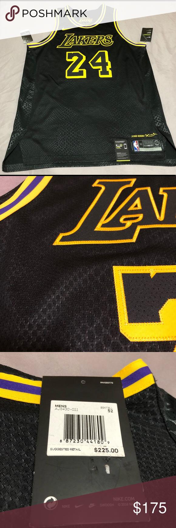 d9d47f7e5 NEW Nike LA Los Angeles Lakers Kobe Bryant Jersey New With Tags Nike Los  Angeles Lakers