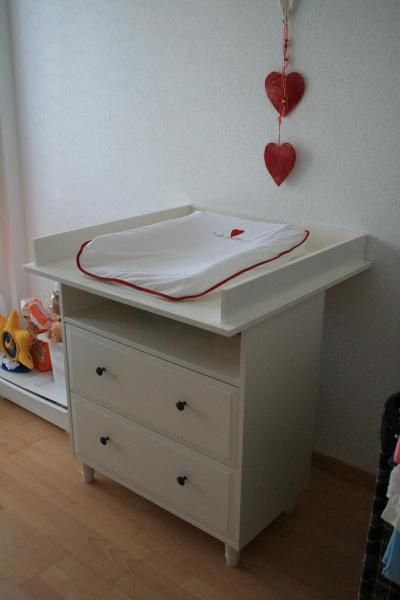 Delightful Ikea Changing Table And Top.