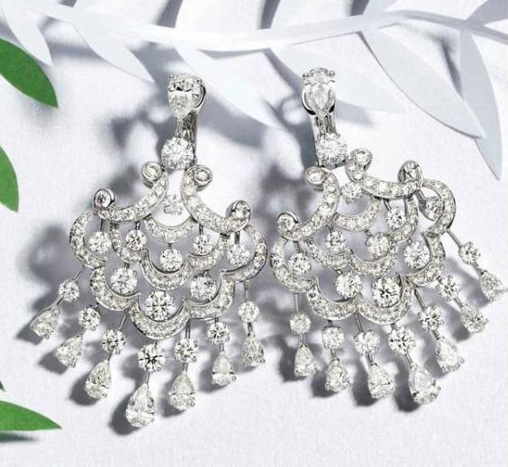Graff earrings #diamond