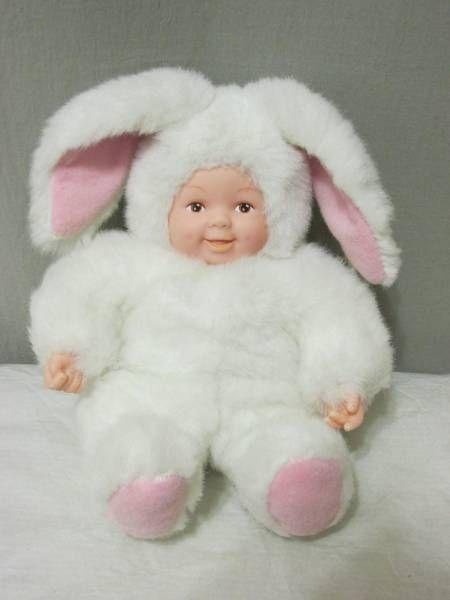 Dolls & Bears Art Dolls-ooak Soft Plush Rabbit Doll By Anne Geddes
