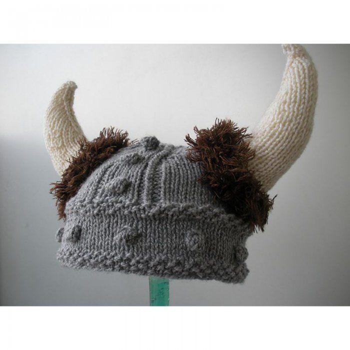 afdec52d1201 Un « bonnet viking »   Mes ptits tricots   Knitting, Knitting ...