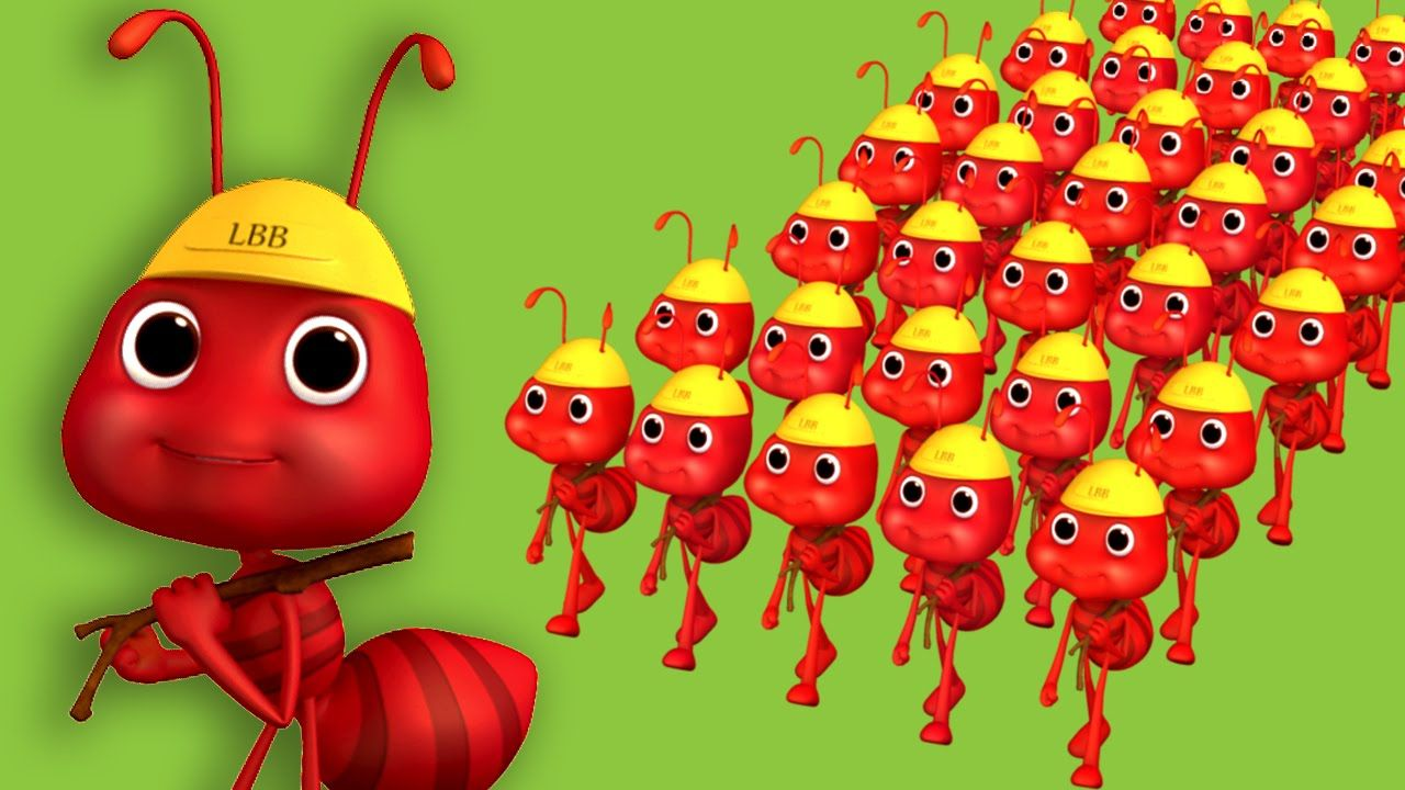 Ants Go Marching | Nursery Rhymes | By LittleBabyBum | kids songs ...