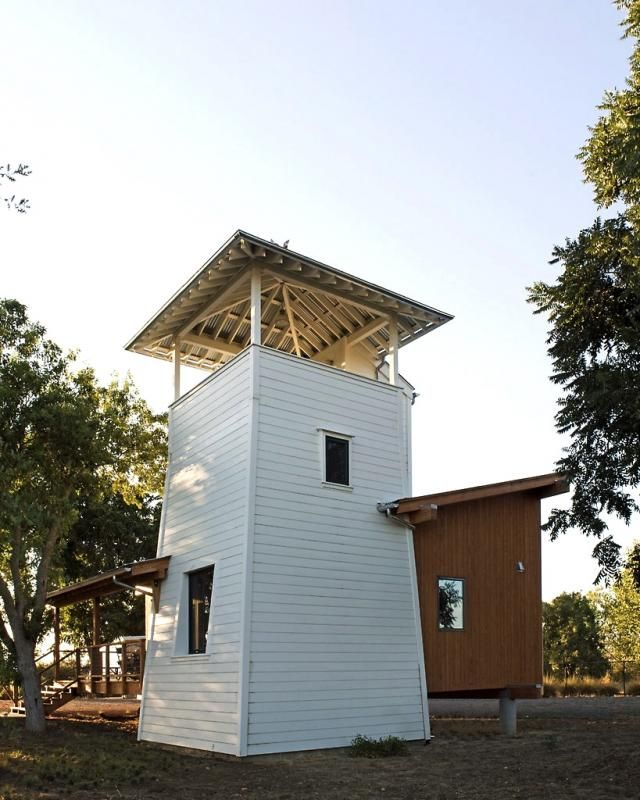 a portable house in ca farm country tower included habitat rh pinterest com