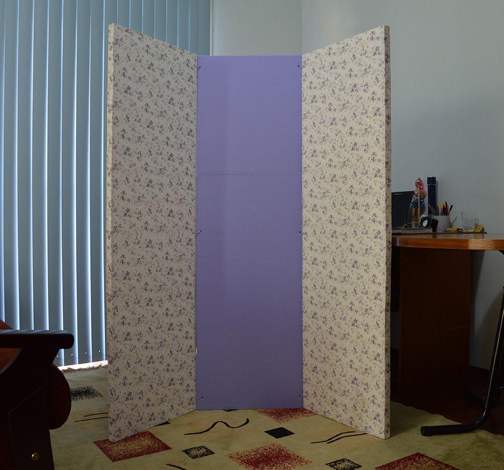 Como fazer um biombo de isopor blog ela inspira diy - Biombos casa home ...