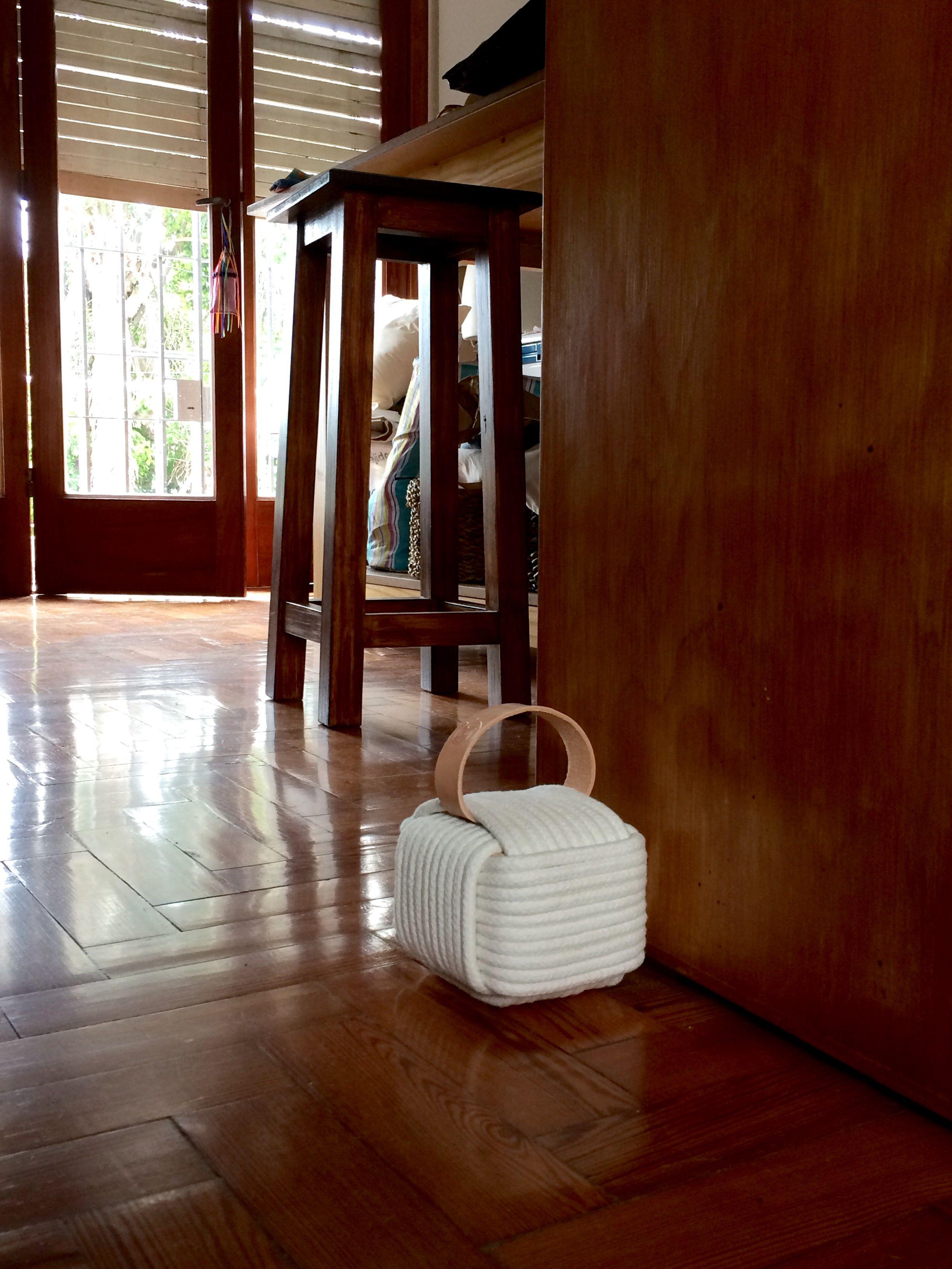 Tope De Puerta Door Stop ドアストッパー Rope Leather