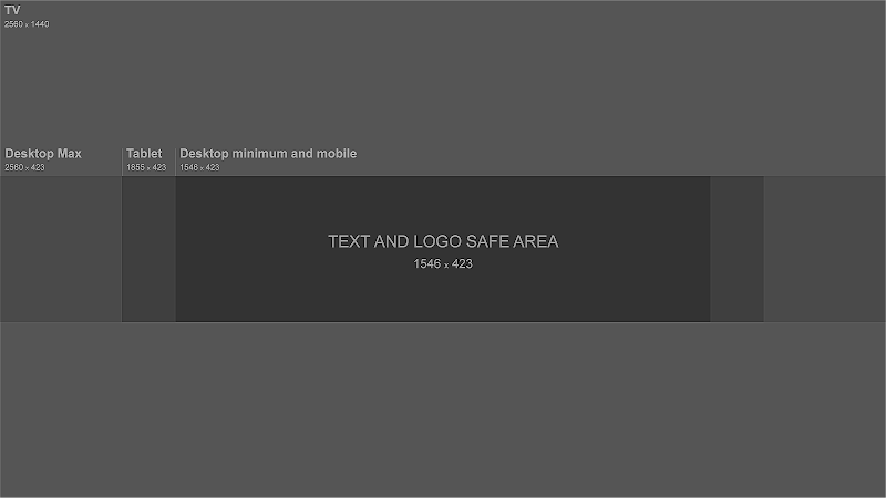 Youtube Banner Size Template And Guideline 2019 Youtube Banner Template Banner Template Photoshop Youtube Channel Art