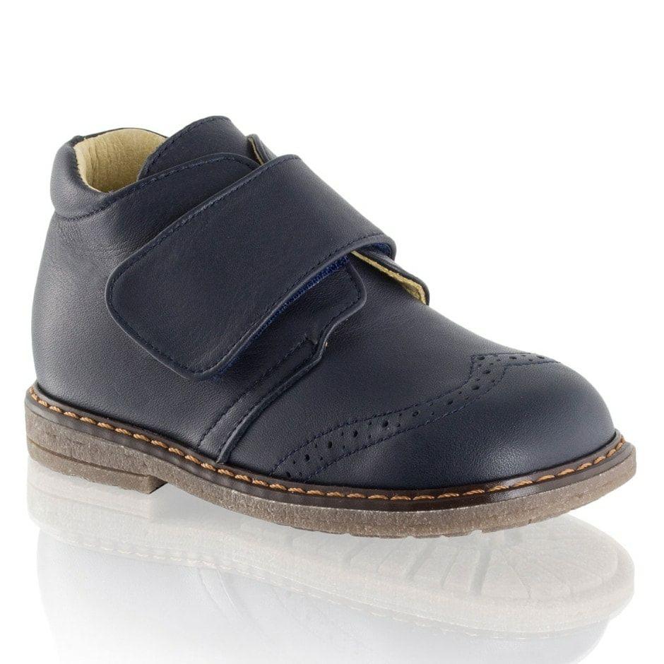 Bromley Logan Brogue Velcro Boot