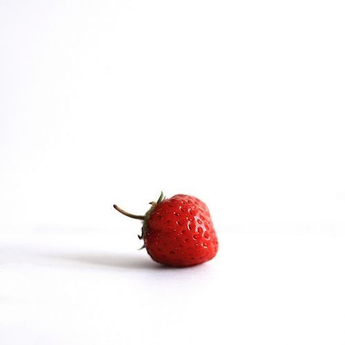 hello strawberry! #food #fruit
