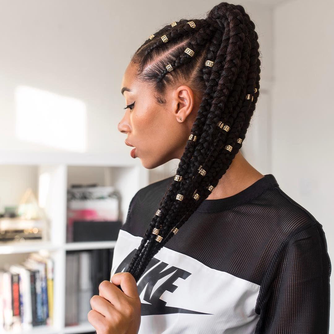 Braids cornrows braided afro hair natural hair Lesley